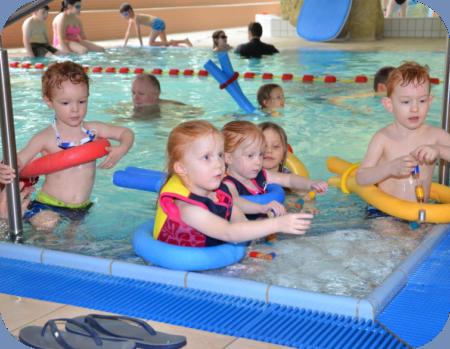 Wassergewöhnung  für 4 Jährige